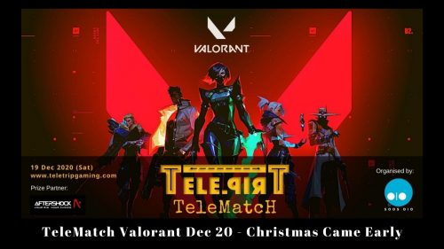 TeleMatch Valorant Dec 20 - Christmas Came Early
