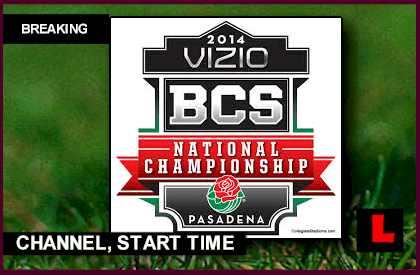 BCS National Championship 2014 Game Gets Primetime Channel ...