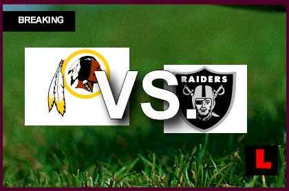Redskins vs Raiders 2013: Jeremy Stewart Scores in First ...
