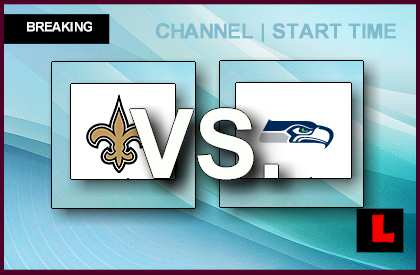 Saints vs. Seahawks 2014 Game: Channel, Start Time Ignites ...
