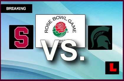 Stanford vs. Michigan State 2014 Score Ignites Rose Bowl ...