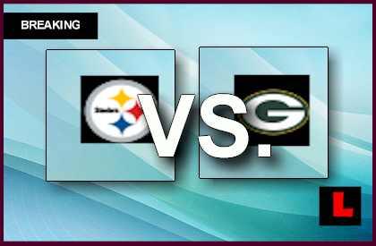 Steelers vs. Packers 2013: Roethlisberger Scores in 1st ...