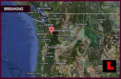 Tacoma Washington Neighboring Earthquake Felt Today