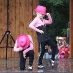 Westerntáncok a színpadon
