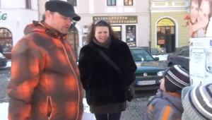 Fábry Szabolcs és családja Rimaszombatban