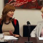Bolemant Évával Hritz Júlia beszélget a Pozsonyi Casinóban
