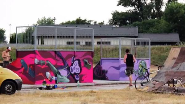 Megújult a Skate Park a komáromi Vág-parton