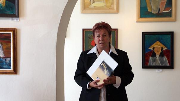 Lilla Galéria Lucza Sára polgármester