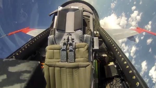 Pilóta nélkül repült a vadászgép