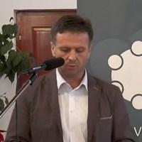 Marczell Zoltán, Kisudvarnok polgármestere köszönti a Kerekasztalt