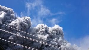 Japán vulkánkitörés