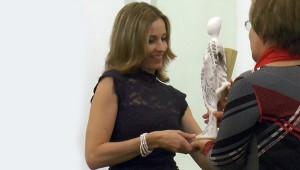 Korpás Éva átveszi a 2014-es Mikola Anikó-díjat