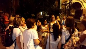 A pelsőci Korona Énekegyüttes a Kórusok Éjszakáján