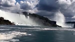 A Niagara vízesés 2015 nyarán
