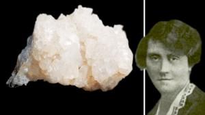 Vendl Mária mineralógus, az első magyar női egyetemi tanár