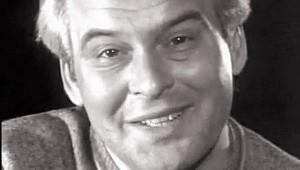 Latinovts Zoltán verset mond a Magyar Televízióban, 1975