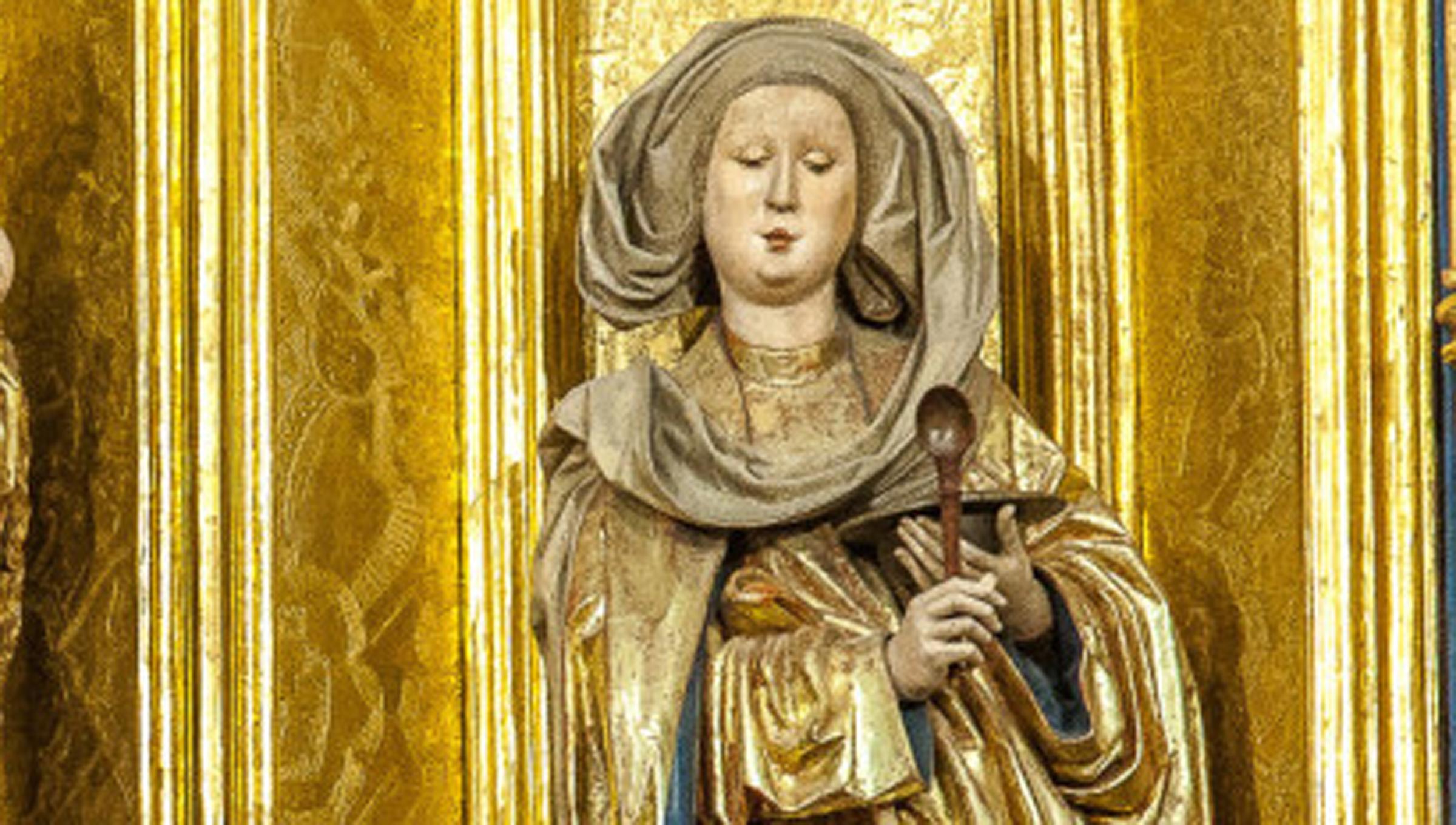 Árpád-házi Szent Erzsébet – Kassa és a dóm védőszentje. Fotó © AmiKassa