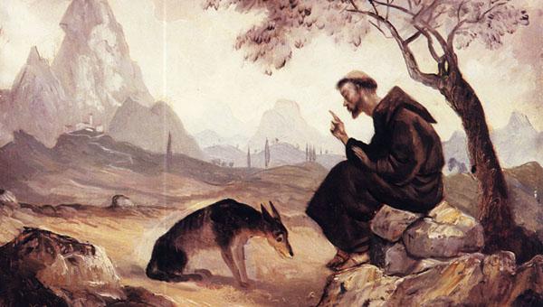Molnár C. Pál: Szent Ferenc és a gubbioi farkas