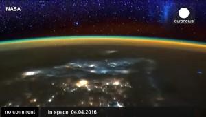 A Föld az ISS-ről