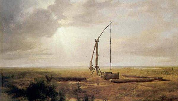 Markó Károly festményének részlete