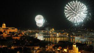 Augusztus 20-i tüzijáták Budapesten