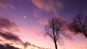 Vénusz-Jupiter konjunkció