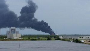 Felrobbant a SpaceX egyik Falcon 9 űrrakétája