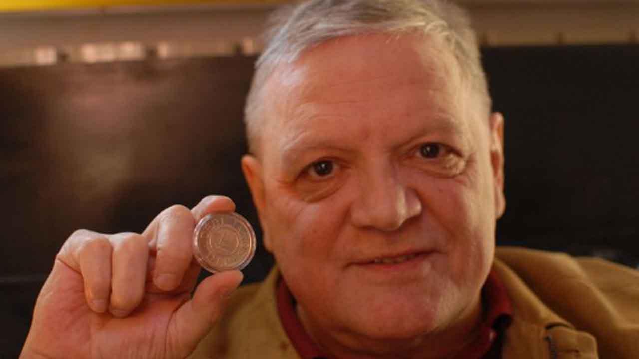 Megyesi Gusztáv a Déri-díjjal