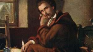 Orlai Petrich Soma: Petőfi Sándor Debrecenben, 1844