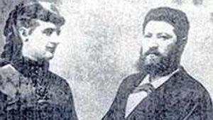 Schwarz Dávid és felesége