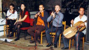A Hárompatak zenekar a RÉV-ben