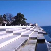 Zenélő tenger Zadarnál