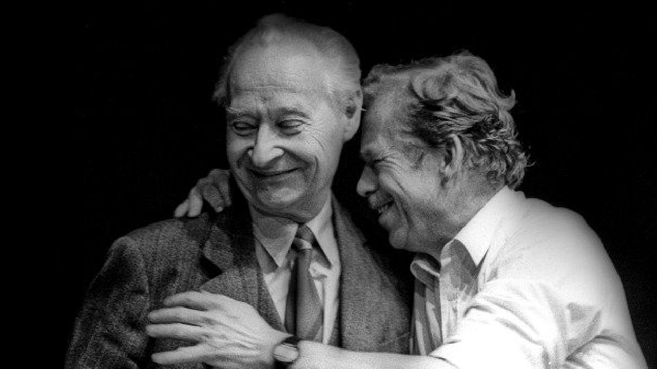 Alexander Dubček és Václav Havel