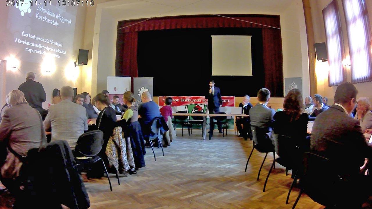 Kerekasztal konferencia Tokár Géza