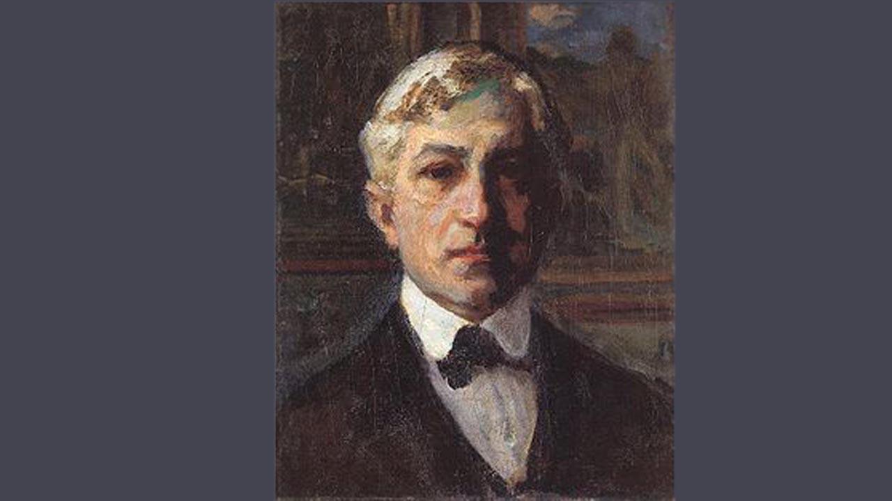 Thorma János önarcképe
