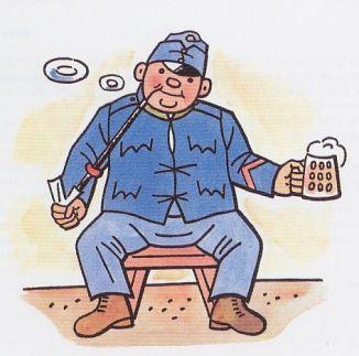 Švejk, a derék katona Jozef Lada rajzán