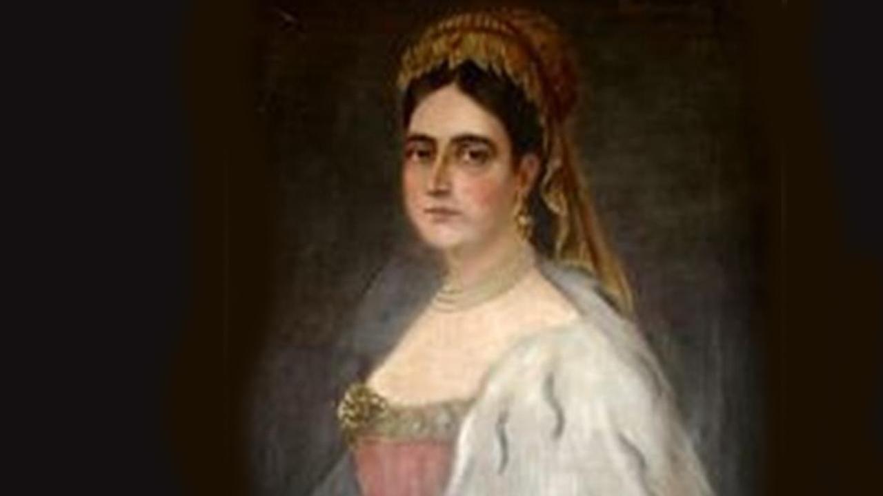 Bornemisza Anna portréja 1680-ból