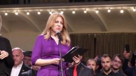 Szlovákia következő köztársasági elnöke Zuzana Čaputová