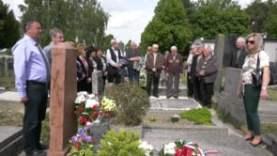 50 éves az Alsószeli Magyar Dalkör – Koszorúzás a temetőben