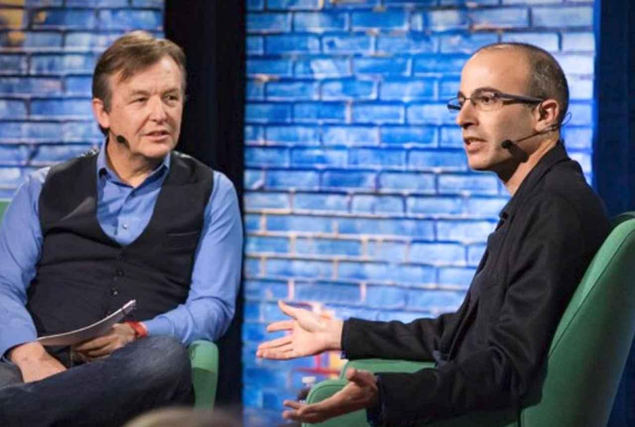 Chris Anderson beszélgetése Yuval Noah Harari izraeli történésszel