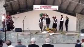 A Csemadok Járási dal- és táncünnepélye Kürtön