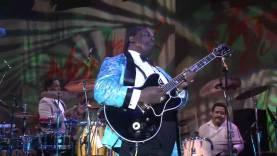 Minden idők egyik leghíresebb bluesgitárosa: B. B. King