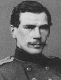A fiatal Lev Tolsztoj