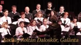 Kodály Zoltán Daloskör: Szép könyörgés (Balassi Bálint versére)