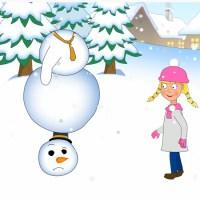 Egy kis hó(ember)...