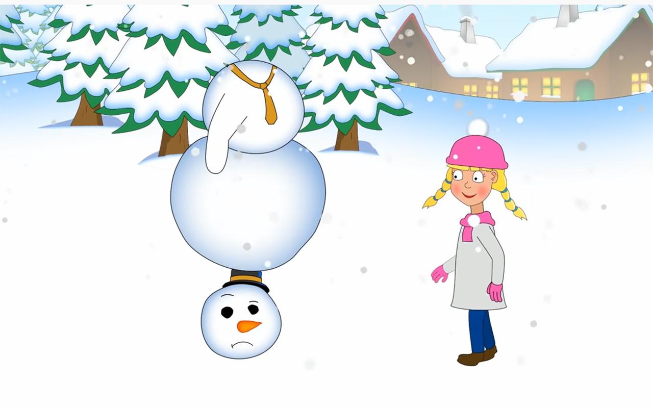 Egy kis hó(ember)…