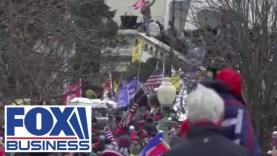 A Donald Trumpot támogató tüntetők betötrek a Capitoliumba