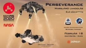 ÉLŐ:  A Perseverance rover megérkezik a Marsra