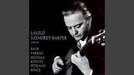 Szendrey-Karper László gitárművész