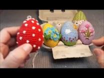 Húsvéti tojás horgolása